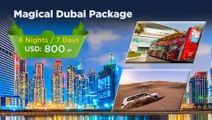 Magical Dubai Package Desert Wings Travel Tours LLC