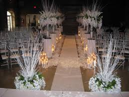 Winter Wonderland Wedding Church In Italy Seeing The Light S Centerpieces