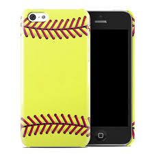 Apple iPhone 5C Clip Case Softball by Sports