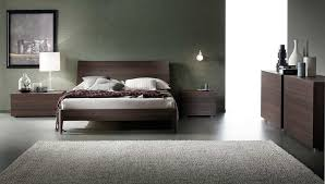 Impressive Grey Italian Platform Bed Rossetto Inside Popular