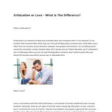 Infatuation Vs Lovepdf