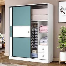 nordic master schlafzimmer schrank massivholz schiebetür moderne einfache schrank familie schlafzimmer kinder der garderobe