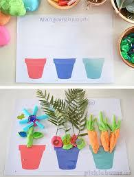 Free Printable Garden And Growing Play Dough Mats Preschool Or Kindergarten