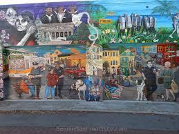24th street scene balmy alley murals seen in san francisco