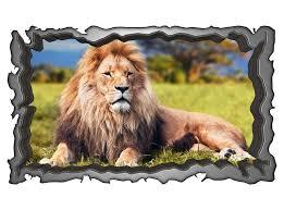 3d wandmotiv löwe afrika tier savanne wandbild wandsticker selbstklebend wandtattoo wohnzimmer wand aufkleber 11e107 3dwandtattoo24 de