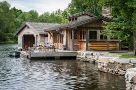 100 Boathouse Designs Pearson Design Group Upstate Lake Camp