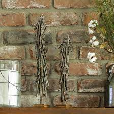 This Twig Christmas Tree Can Be Made For Next To Nothing By Using Fallen Branches Found