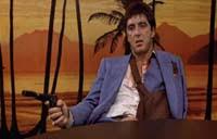 Scarface Bathtub Scene Script by Scarface Movie Trivia The 80s Movies Rewind