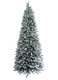 9 Ft Christmas Tree Slim Unlit With Led Lights Pre Lit Clearance