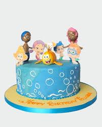 bubble guppies cake cb4154 panari cakes