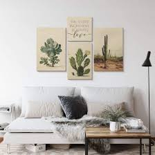 holzposter saftleven kaktus
