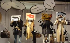 You Can Feel The Change Of Weather As Clothes Become Voluminous And Window Displays