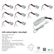 3w cree led ac85 277v input dimmable led cabinet light mini