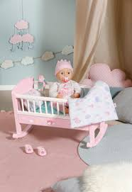 baby annabell organza säckchen sweet dreams wiege