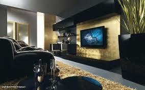 schwarz gold wohnzimmer dekoration ideen gold wohnzimmer