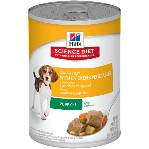 Hill's Science Diet Savory Stew with Chicken & Vegetables Premium Dog Food