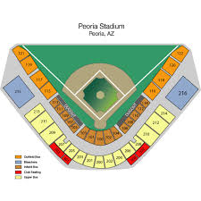 Seattle Mariners at San Diego Padres Peoria Tickets