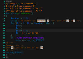 PhpDesigner Syntax Highlighters With Dark Background