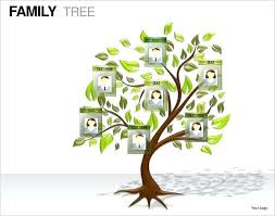 Tree Template 7 Family Templates Free Drawing A