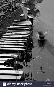 mont michel parking mont st michel buses parking lot stock photo royalty free image