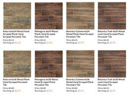 wood look porcelain tile â spec sheet for 6ã 24â and 6ã 36â the