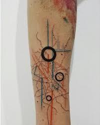 Abstract Geometric Tattoo By Aline Wata