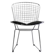 Only Design Scribe Metal Wire Dining Chair With Black Seat Pad ... White Wire Diamond Ding Chair Fmi1157white The Home Depot Shop Poly And Bark Padget Eiffel Leg Set Of 2 Bottega Tower Ding Chair By Sohoconcept Luxemoderndesigncom Commercial Gold Leaf Shape Metal Chairgold Color Bellmont Bertoia Of Rose Harry Oster Black Project 62 In 2019 4 Wire Ding Chairs Black With Cushion 831 W Green Cushion Zuo Eurway Holly Reviews Joss Main Hashtag Bourquin Wayfair Simple Hollow For Living Room