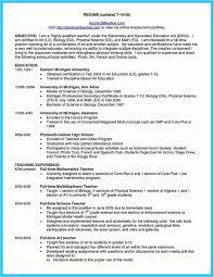 20 Resume For Self Employed