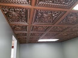 da vinci faux tin ceiling tile drop in 24 x24 215 dct