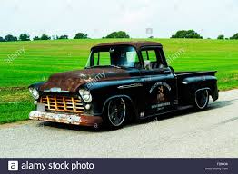 1956 Chevrolet Custom Rat Rod Pickup Truck Stock Photo: 87413318 - Alamy
