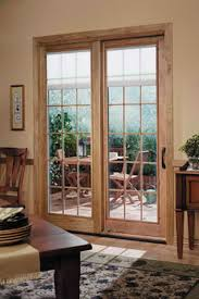 Patio Door With Blinds Between Glass by French Sliding Patio Doors