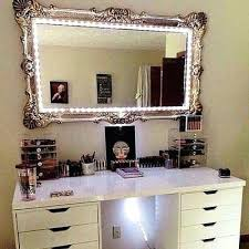 Vanity Table With Lighted Mirror Amazon by Vanities Light Up Vanity Mirror Table Light Up Makeup Mirror