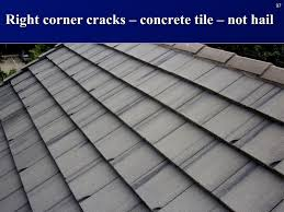 awesome cement tile roof concrete tiles cracking only at bottom