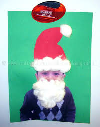 Easy Craft For Kids Artsy Santa Crafts Toddlers Claus