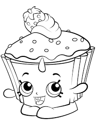Related Coloring Pages Cupcake Chic Shopkin Season 2