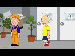 caillou uses the girls bathroom 2 youtube