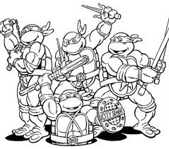 Tmnt Free Coloring Pages Get This Printable Teenage Mutant Ninja Turtles 6367 Crayola Photo