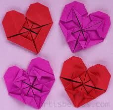 How To Make An Origami Flower Heart
