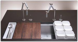 Kohler Executive Chef Sink Accessories by Kohler K 3761 Na Stages 45 Inch Stainless Steel Kitchen Sink Ebay