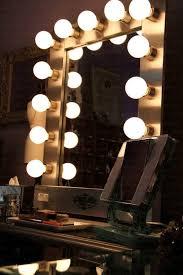 light bulb makeup mirror with light bulbs fascinating non