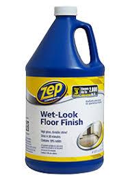 Zep Floor Finish On Rv by Wet Look Floor Finish Details
