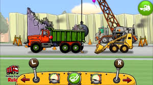 Garbage Truck Videos For Children L Dump Truck With Skid Loader L ...