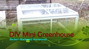 DIY MINI GREENHOUSE - YouTube Via Natureholic3 Backyard Homestead Looking Urbangarden The Zapata Times 12172016 By Issuu Natural Swimming Pools Ideas To Create A Cooling Summer Retreat Planning Your Garden Farming Cnection Little In Boise Our Layout Overview Bluebirds Backyard Chickens Rental Brown Family 25 Beautiful Layout Ideas On Pinterest Carport Covers 40 Projects For Building Fox Chapel Publishing
