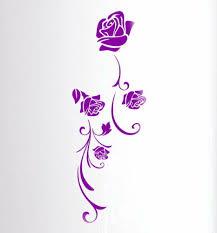 wandtattoos wandbilder wantattoo lila wandtattoo