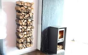 fast unsichtbar kaminholzregal wooden tree bild 6