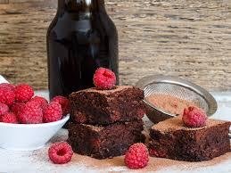 himbeer brownie kuchen