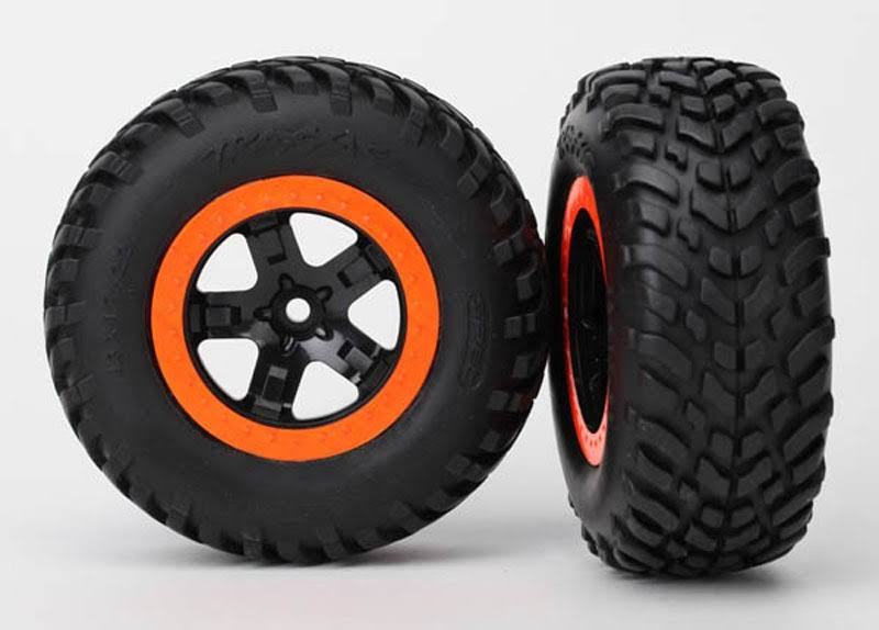 Traxxas Tires/Wheels Assembled (2)