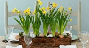 Vivid Diy Easter Spring Table Centerpieces