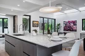küche esszimmer und wohnraum kombiniert