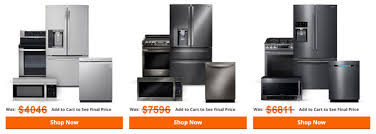 """Home Depot """"Appliance Sale"""" From Package to Scratch and Dent Deals"""